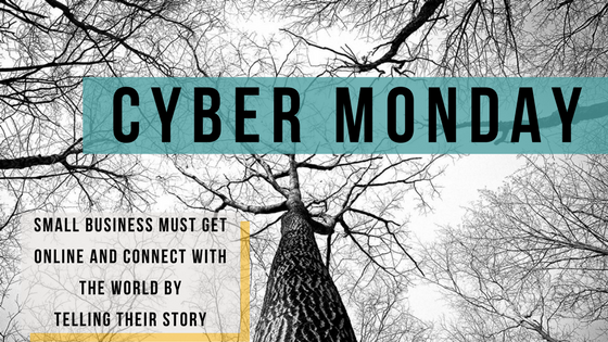 Cyber Monday and Telling Your Story