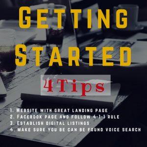 Four Tips to Establishing a Digital Footprint