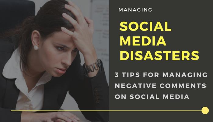 Handling Social Media Negative Comments