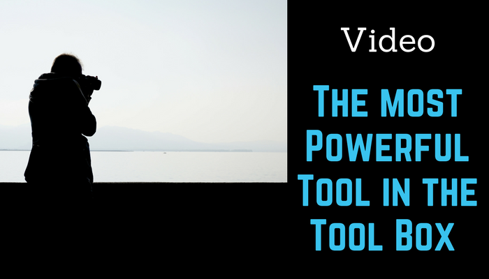 Video 2018 The Most Powerful Tool in the Toolbox